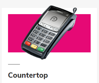 countertop card reader